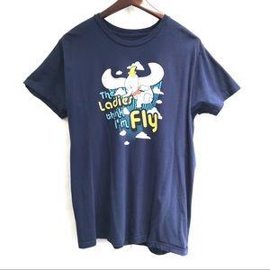 Disney Parks Dumbo The Ladies Think I'm Fly Tshirt